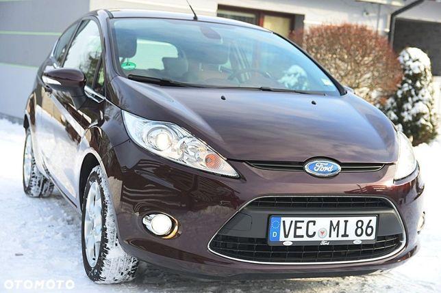 Ford Fiesta 1.25 Benzyna 82KM * Z Niemiec * TITANIUM * BOGATA * ZNAKOMITY STAN!