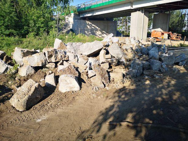 Gruz betonowy czysty z zaladunkiem podbudowa drogi tylko do 22.06