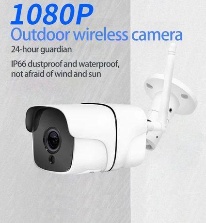 Câmera Vigilância Exterior • WIFI • 3MP • 90º • Visão Noturna IR