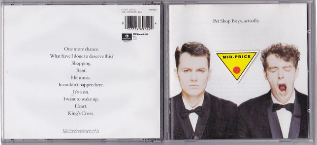 Pet Shop Boys - Actualy (1987.1990)
