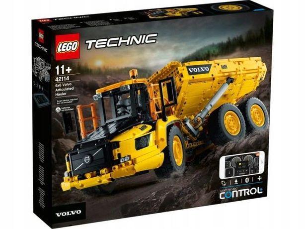 Klocki LEGO Technic 42114 - Wozidło przegubowe Volvo 6x6