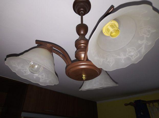 Lampa 3 ramienna E14