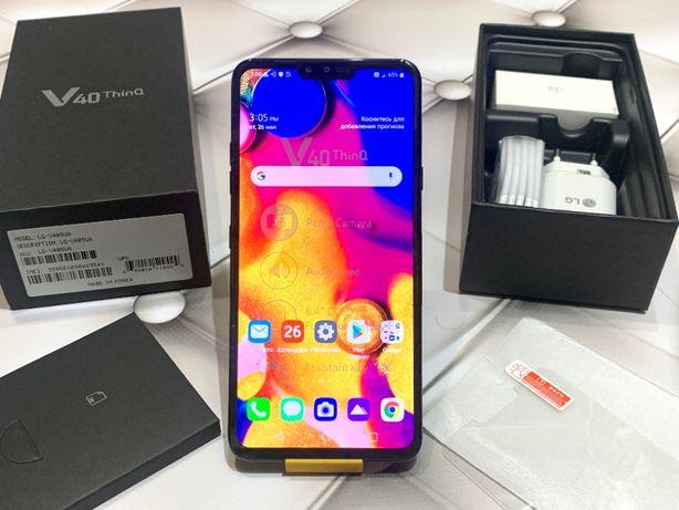 LG V40+ V405EBW ThinQ 128gb 2 Sim Подарок - Новый Гарантия G7 Dual V50