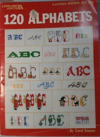 Продам буклет Вышивка крестиком Алфавит, цена 200р