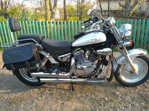 Продам мотоцикл Кивей круизер 250