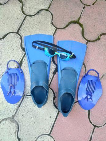 Ласты очки аксессуары для плавания 36-37 (9-11 лет)