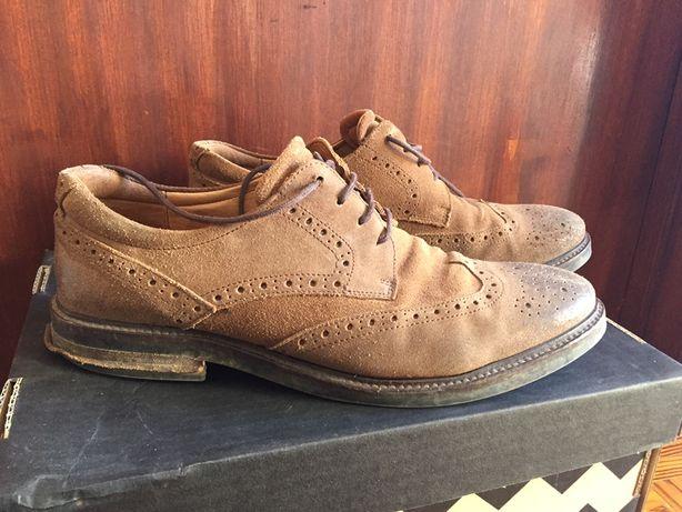Sapatos em pele Camel 44