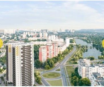 1-кв новострой ЖК Радужный, ул. Кибальчича 2, 45,93м2, 1 дом