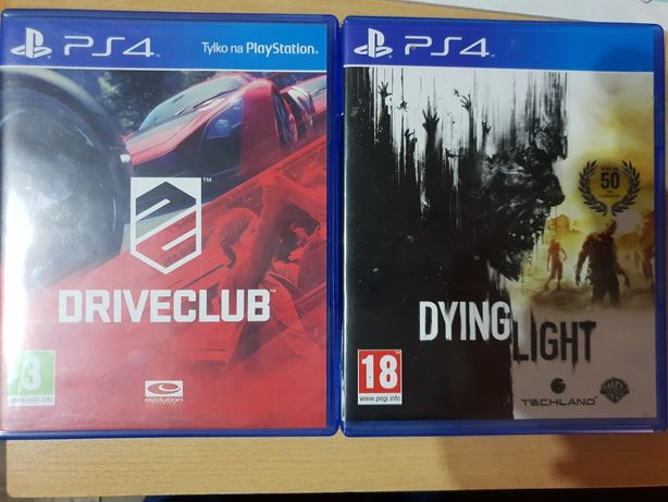 DriveClub i Dying light