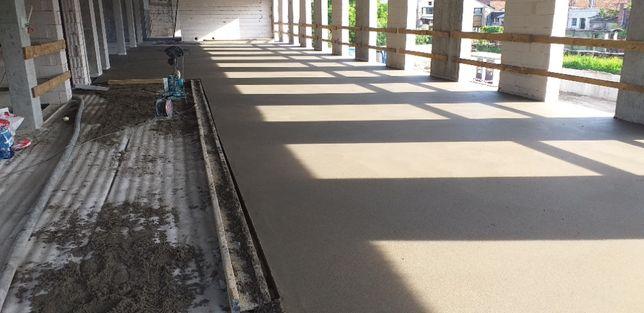 Posadzki mixokretem / wylewki betonowe