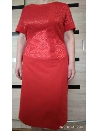 Super wygodna, elegancka i modna suknia 44/46.
