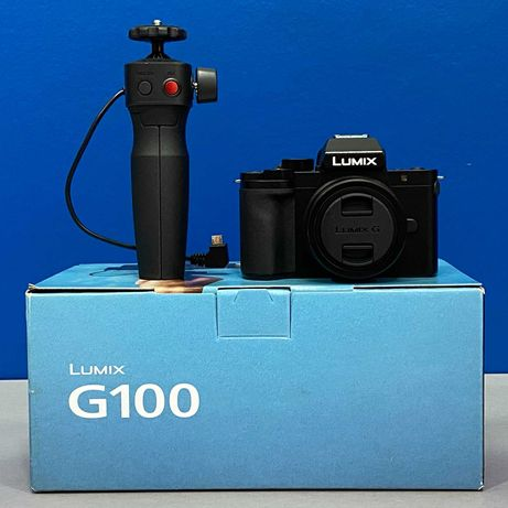 Panasonic Lumix DC-G100 (20.3MP) + 12-32mm f/3.5-5.6 + Tripé - NOVA