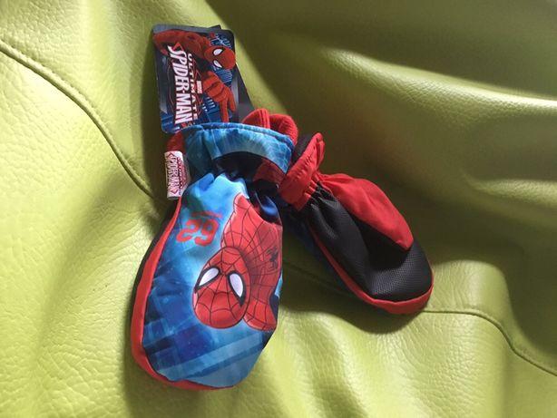 Luvas rapaz (neve) Marvel Homem Aranha anti-derrapante (novas)
