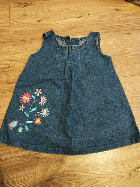 Sukienka jeansowa 74