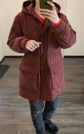 Парка, демисезонная куртка М-Л