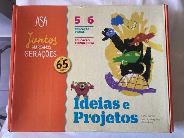 Ideias e Projetos, Educação Visual/Tecn. 5º/6º Anos - Dossiê professor
