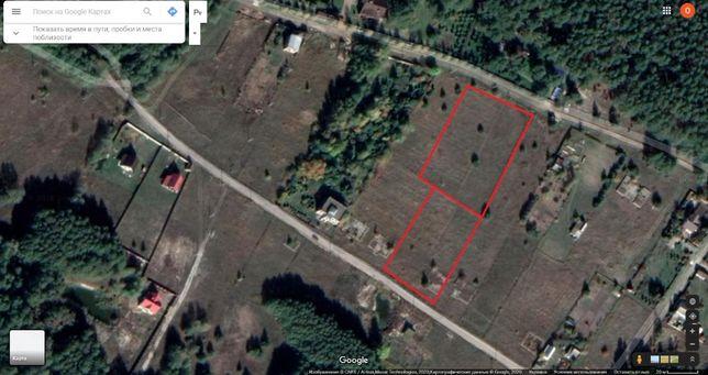 Продам два смежных участка общей площадью 65 соток в с. Тимченки
