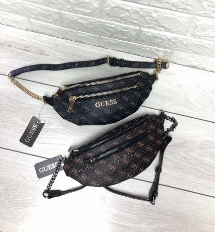 Бананка сумка рюкзак Guess Dior