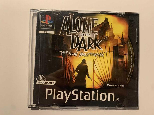 Alone in The Dark Playstation 1