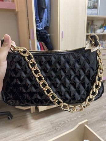 Новая черная сумка