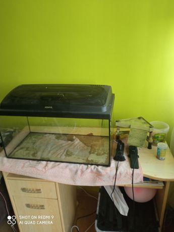 Akwarium filtr i podgrzewacz wody