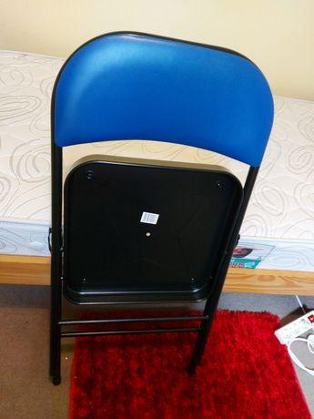 Mesa ajustável com rodas para portátil e cadeira dobrável
