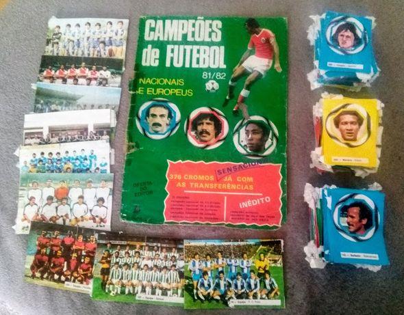 Cromos Campeões de Futebol Nacionais e Europeus 1981/82 (Recuperados)
