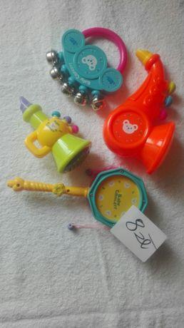 Zestaw instrumentów muzycznych dla dzieci komplet