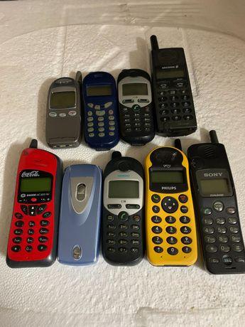 Vendo telemóveis antigos para coleção