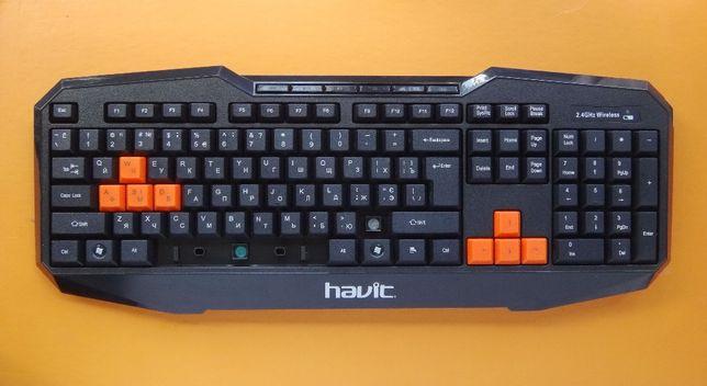 Геймерская клавиатура беспроводная Havit HV-KB510GCM (на запчасти)