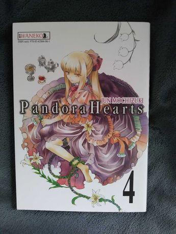Pandora Hearts- tom 4- manga + GRATIS beztroskie dni