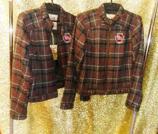 Пальто нове S/M фірма N.Y.C. 100% вовна укорочена  куртка для дівчини