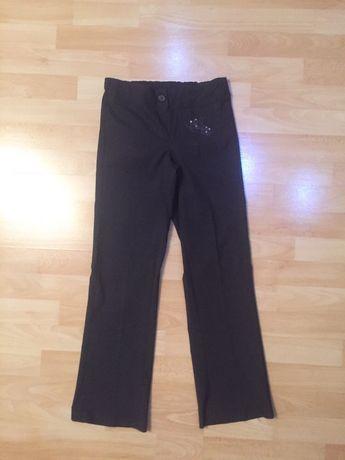 Штаны, штани в школу для дівчаток на 7-8 -9 років, на ріст 128-134 см