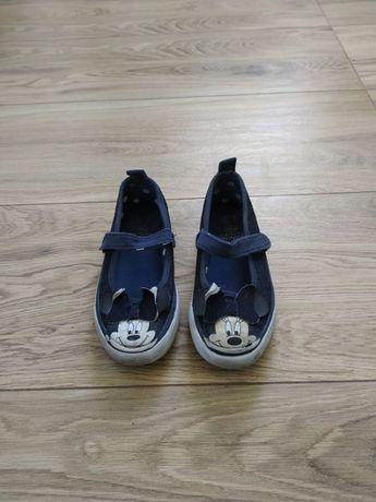 Buty sportowe trampki dla dziewczynki na rzepy r29