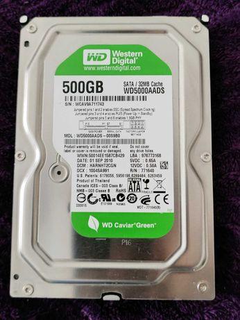 Disco HDD Interno Western Digital 500GB Green WD5000AADS