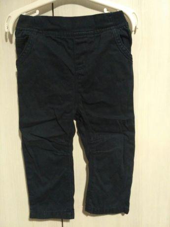 Spodnie chłopięce r. 80