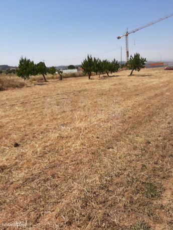 Terreno urbano industrial e terreno rústico contíguo no Carregado