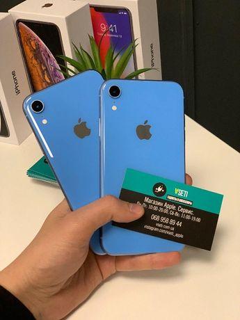 iPhone XR 64 Gb Blue! ГАРАНТИЯ от 3-х мес. МАГАЗИН VSETI.COM.UA