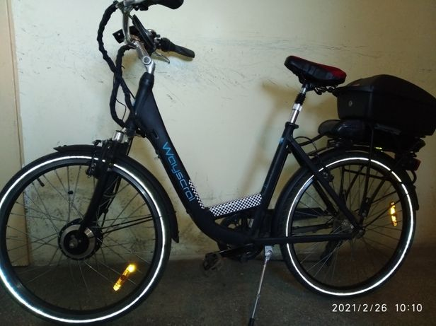 rower elektryczny używany sprzedam
