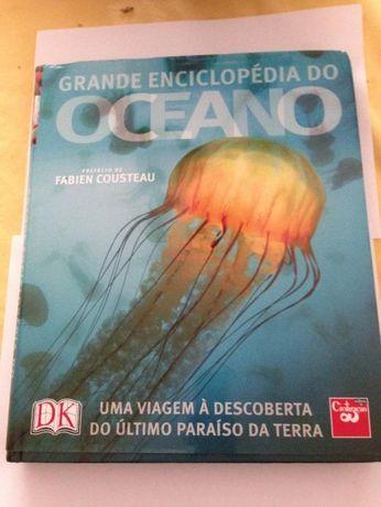 Grande Enciclopédia do Oceano de Fabien Cousteau