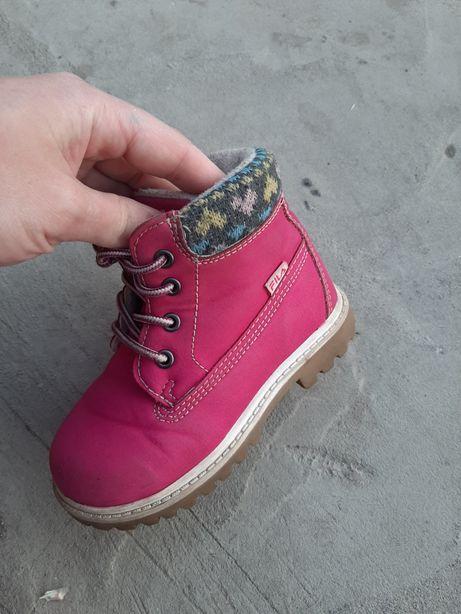 Ботинки fila розовые