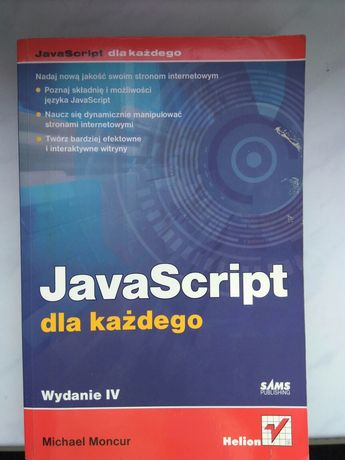 JavaScript dla każdego Moncur Michael Helion