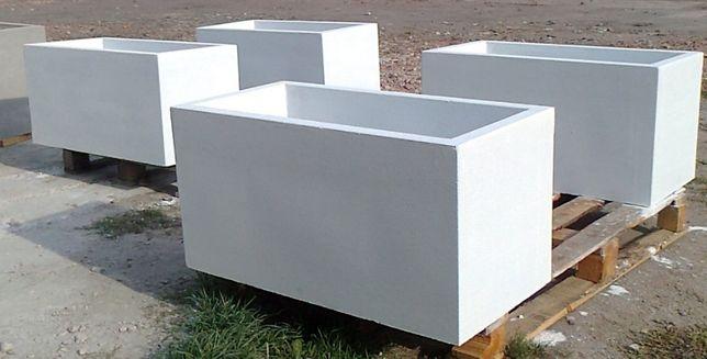 Donice betonowe ogrodowe Donica betonowa ogrodowa 80x40x40 kwietniki
