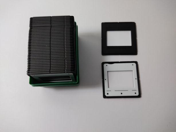 Conjunto de 48 slides com caixa fujichrome