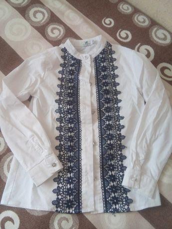 блузка школьная рубашка нарядная