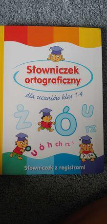 Słowniczek ortograficzny. Słownik