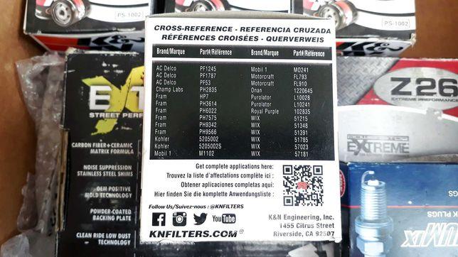 Масляный фильтр K&N PS-1002 (Mobile 1, Fram, Motocraft, Wix и др.)