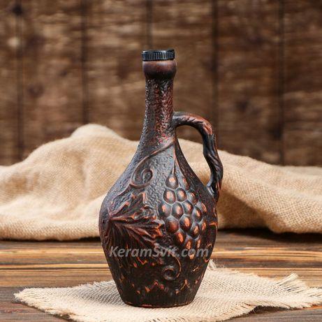 Винные кувшины Штофы Бутылки для спиртного Глечики Пляшки для коньяка