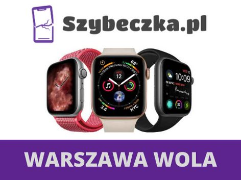 Wymiana szybki wymiana wyświetlacza Apple Watch seria 5 4 3 2 1