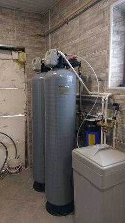 Сантехник Отопление водопровод канализация котел буфер очистка воды